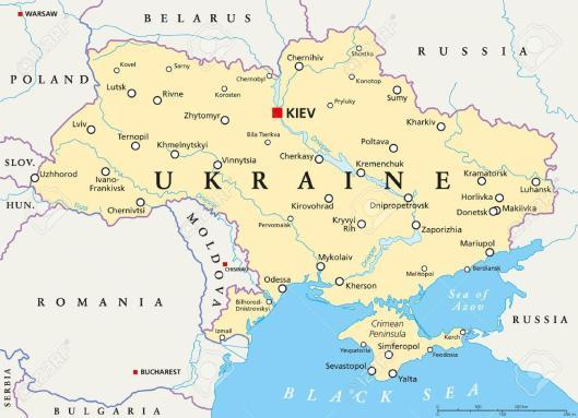 Κίεβο,-ουκρανία-εμφάνιση-χάρτη